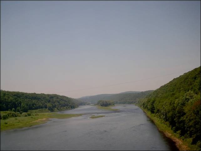 Allegheny Riverfront Land for Sale - Cabin