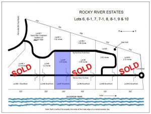 Rocky River Estates Subdivision Map Allegheny Riverfront Land For Sale