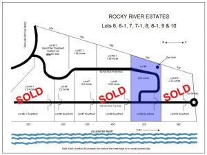 Rocky River Estates - Allegheny Riverfront Land - Lot 9 Map